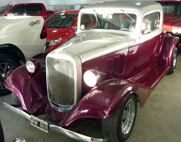 Car Chevrolet 1933 Coupé 3 Ventanas
