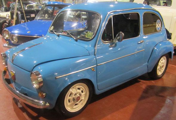 Car Fiat 600 Abarth