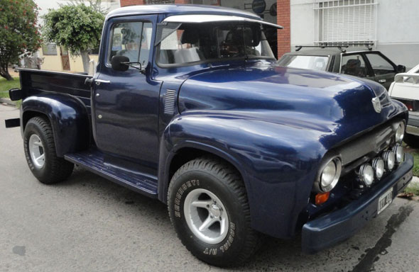 Auto Ford Pick Up 1956
