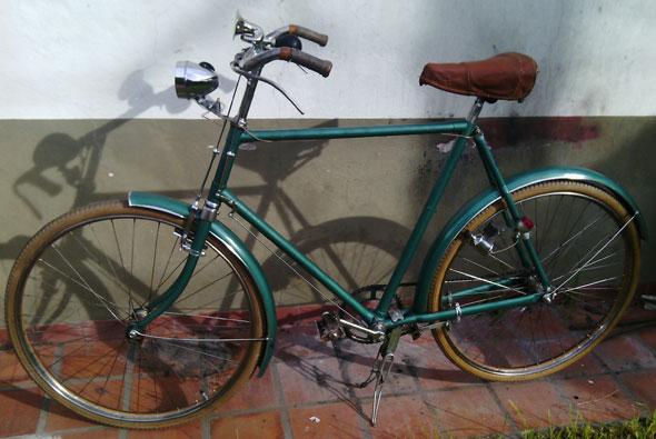 Bicicleta Hercules 1950