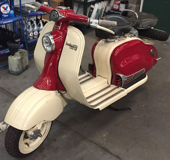 Motorcycle Lambretta 150 LD Colecci�n