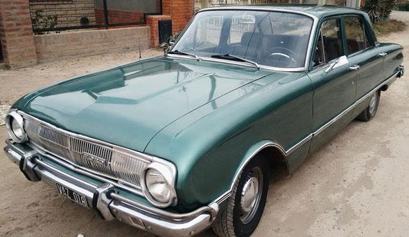 Car Ford Falcon Standard 1971