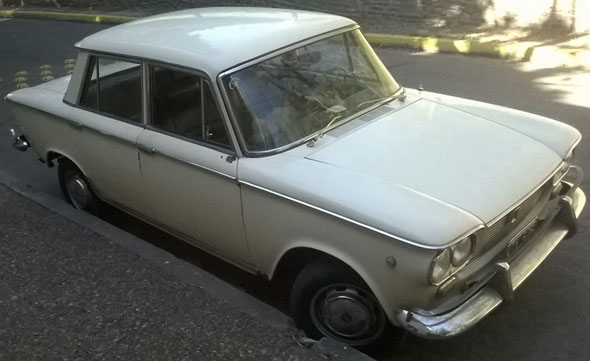 Auto Fiat 1500 Corto