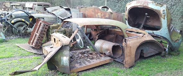 Auto DKW Coup� 1956