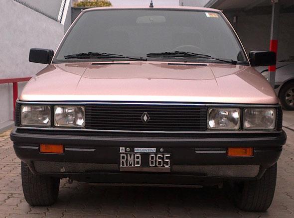 Car Renault 11 TS