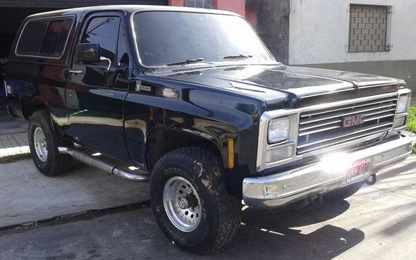 Auto Chevrolet Blazer K5 1980