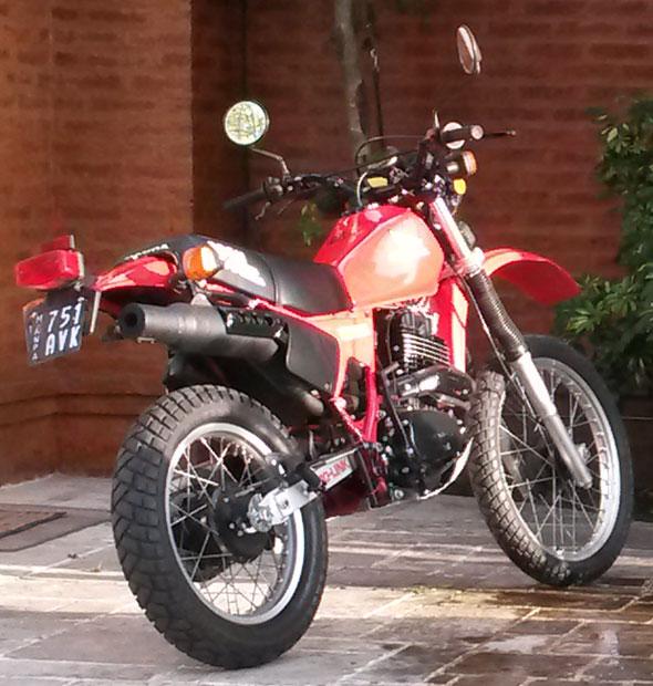 Motorcycle Honda XL 500