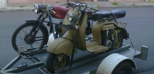 Moto Siambreta 150