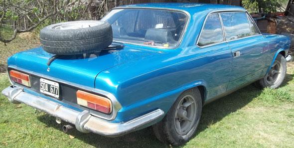 Car IKA-Renault Torino TS 1974