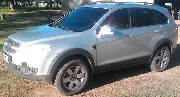Auto Chevrolet Captiva 2.0 4x4