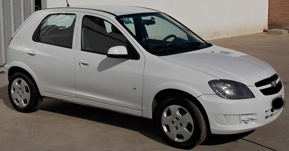 Car Chevrolet Celta