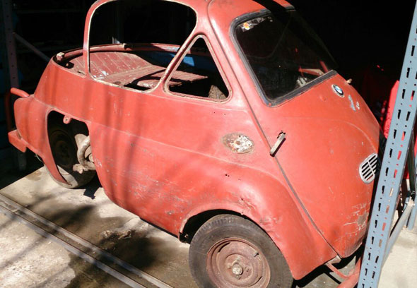 Car BMW Isetta 1958