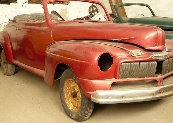 Car Mercury 1946 Convertible