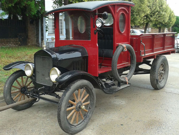 Auto Ford T Cami�n 1925