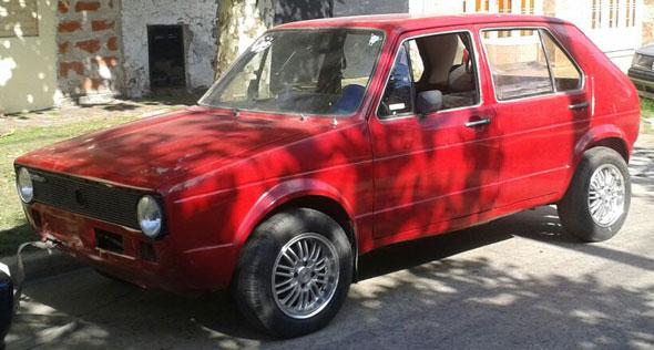 Auto Volkswagen Golf MK1