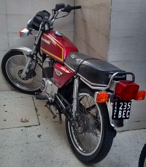 Motorcycle Kawasaki GTO
