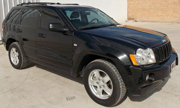 Car Jeep Grand Cherokee Laredo