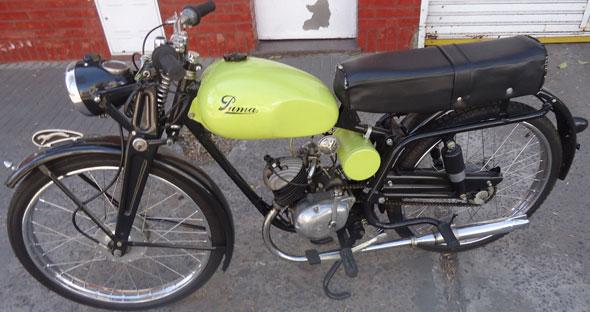Motorcycle Puma 1957