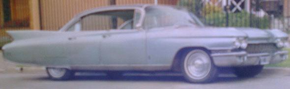 Car Cadillac 1960