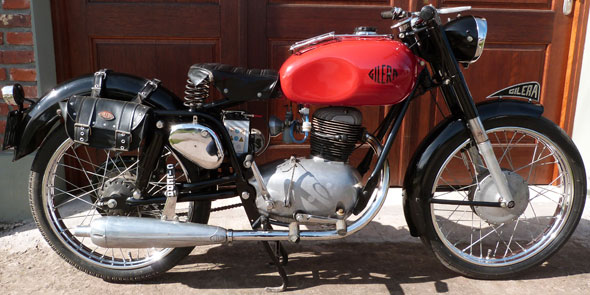 Motorcycle Gilera Sport