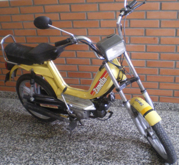 Motorcycle Zanella V3HL