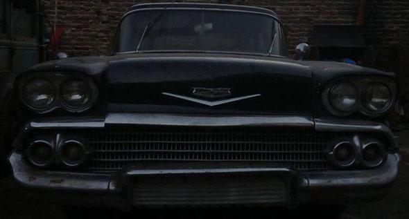 Auto Chevrolet 1958