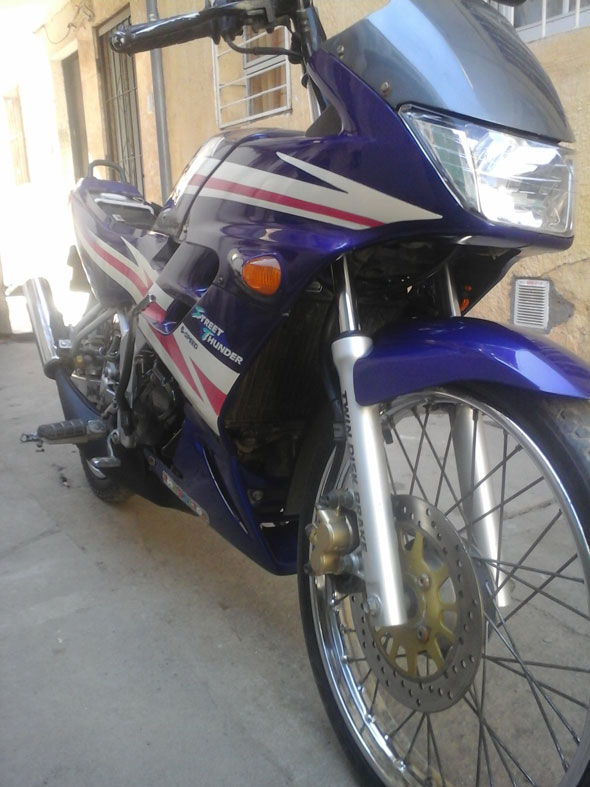 Auto Yamaha Touch 125 2001