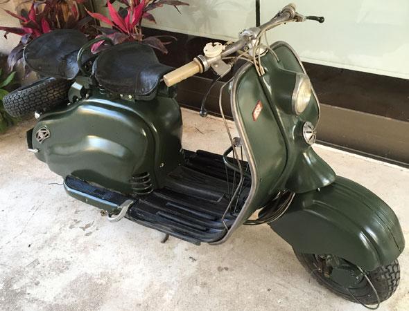 Motorcycle Siambretta 150