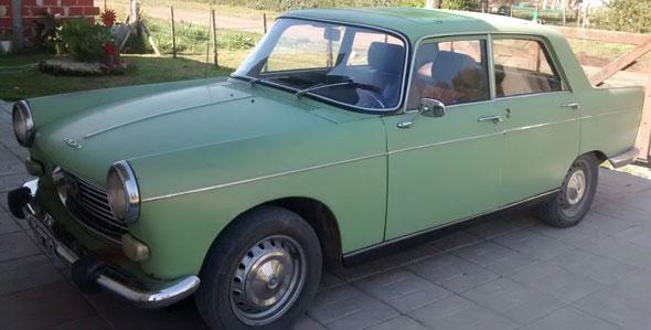 Auto Peugeot 404 1970