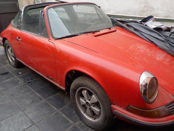 Car Porsche 911 Targa 1973 2,4 T