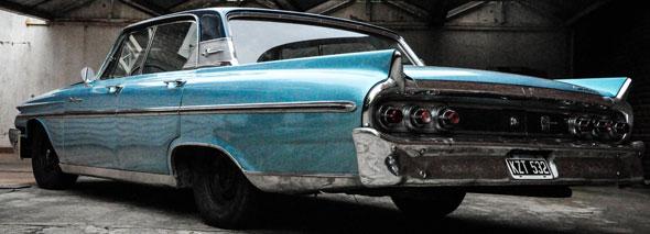 Auto Mercury Monterey 1961