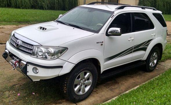 Auto Toyota SW4 AT 2011