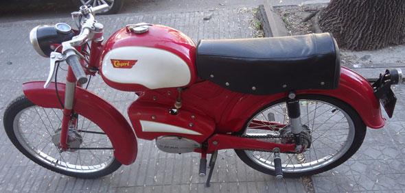 Motorcycle Capri 1959
