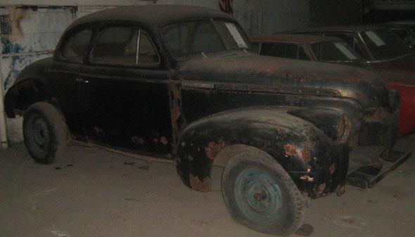 Auto Chevrolet Coup� 1940