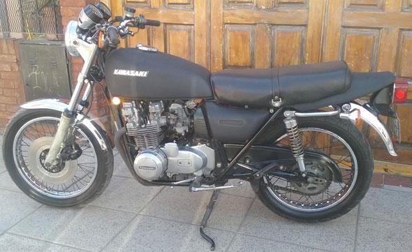 Motorcycle Kawasaki Z650