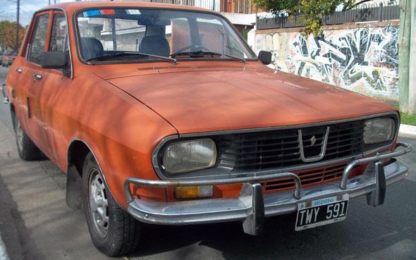 Car Renault 12 1974