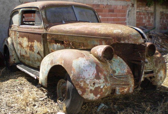 Auto Chevrolet Sedán 1939