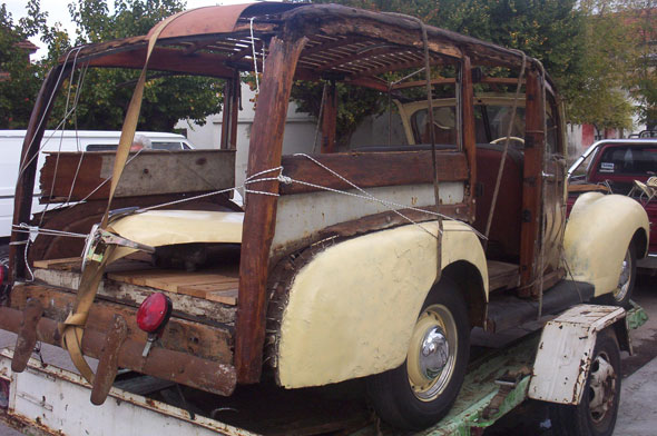 Auto Ford Woody Wagon