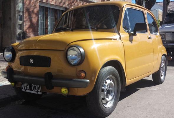 Car Fiat 600S 1979