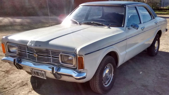 Auto Ford Taunus GXL