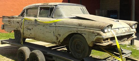 Auto Ford Custom 1959