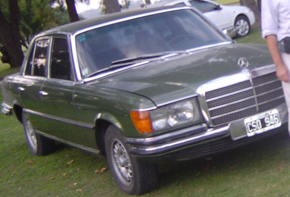 Car Mercedes Benz 280 SE 1976