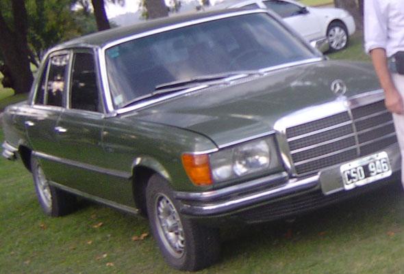 Auto Mercedes Benz 280 SE 1976