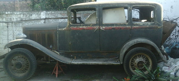 Car Nash 4 Door Sedan 6 Cylinder 1927