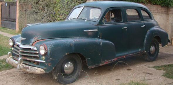 Auto Chevrolet Steel 1947