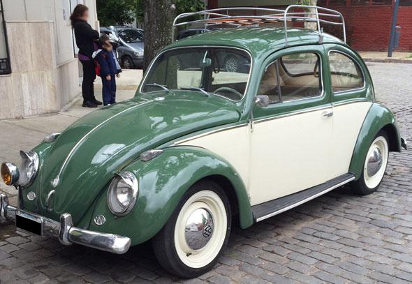 Car Volkswagen Escarabajo Alemán
