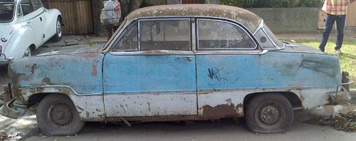 Car Ford Taunus 15M Deluxe