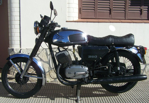 Moto Jawa 350 1977