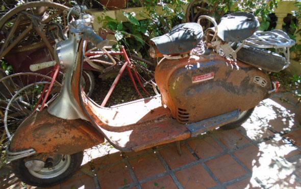 Motorcycle Siambretta 150 150