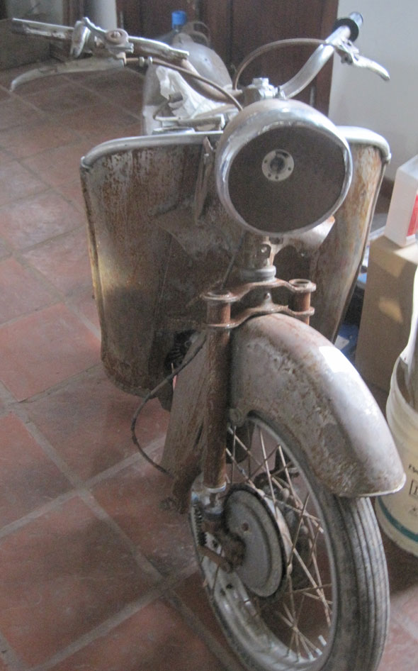 Motorcycle Guzzi Galetto